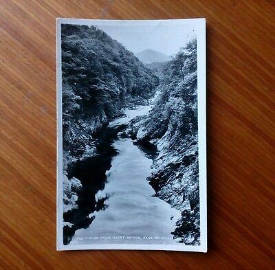 Ben Y Gloe from Garry Bridge, Pass of Killiecrankie. J B White Ltd. Dundee 1959