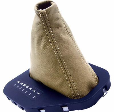 Automatic Shift Boot Synthetic Leather BMW E39 525 528 530 for 96-03 Beige