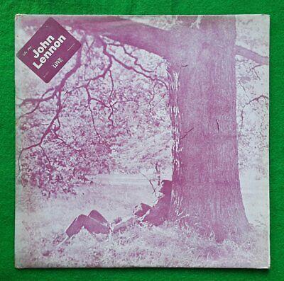 The Beatles John Lennon / Plastic Ono Band korea vinyl lp Monochrome Cover EX-