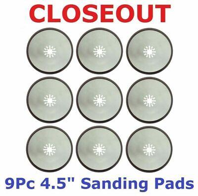 9pk Closeout Oscillating Multitool Sanding Pads Fits Fein Bosch Craftsman Ridgid