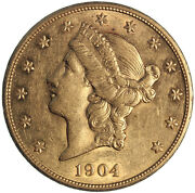1904 Gold Double Eagle