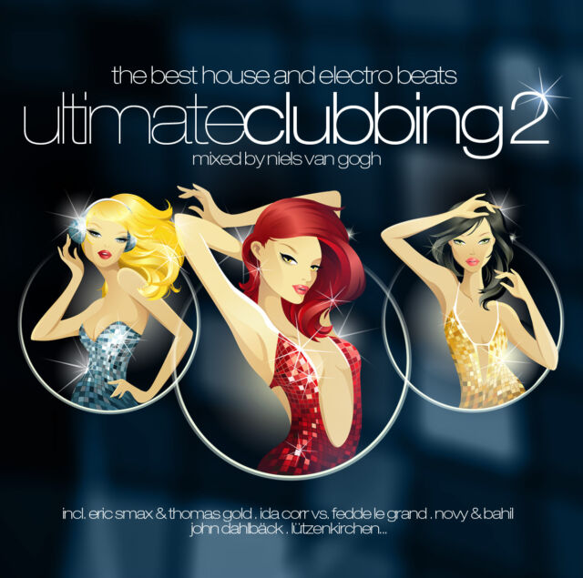 CD Ultimate Clubbing 2 mixed by Niels Van Gogh  2CDs