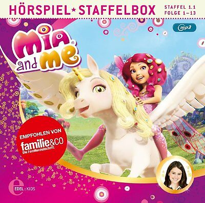 CD * MIA AND ME - Staffelbox (Folge 1-13 der 1. TV-Staffel) - mp3 CD # NEU OVP & Cd Mp3 Tv