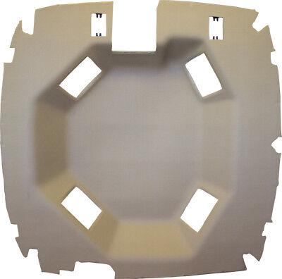 John Deere Sailcloth Tan Vinyl Headliner Fits 9000 9100 9200 9300 9400 9110 Etc