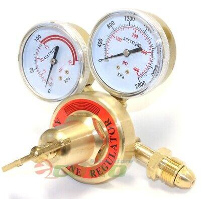 Brass Acetylene Regulator Gauge Cga 510 Welding Gas Victor Type Torch