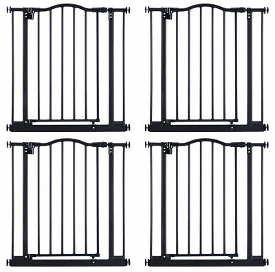 North States Portico Arch Metal Baby Child Pet Gate - Bronze