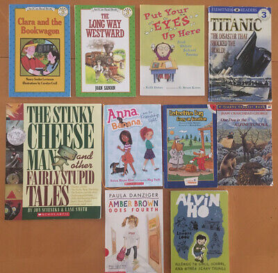 Lot of 10 Level 3 ~ AR ~ I Can Read ~ Leveled Readers Books ~ Scholastic~ MIX