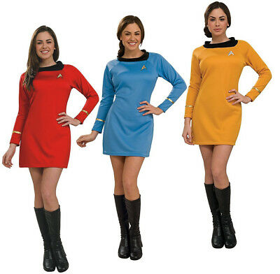 Original Star Trek Womens Uniform (Star Trek Costume Dress Womens Deluxe Uniform Original)