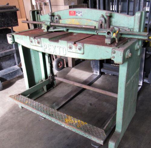 Roper Whitney 3ft x 16-Gauge Manual Shear Sheet Metal Fabrication