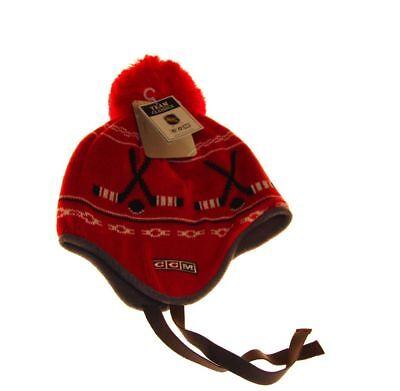 Nhl Detroit Red Wings Winter Knit Hat