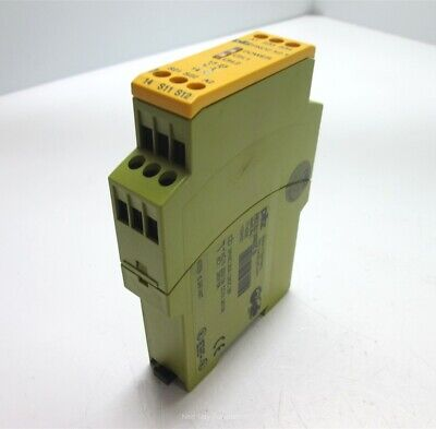 Pilz Pnoz X2.1 774306 Safety Relay 24vacdc 2 No Contacts