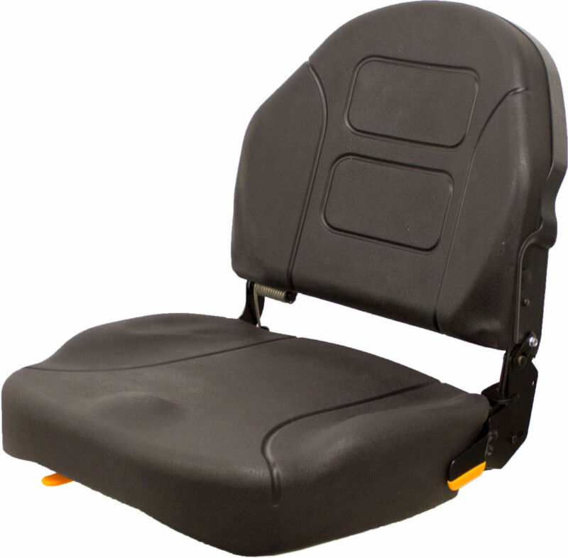 """Forklift and Material Handling Equipment Seat with 11"""" x 11"""" Mounting Pattern"""