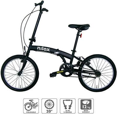 bicicleta plegable Nilox 20P-X0 *SOLO RECOGIDA EN MANRESA* Unisex