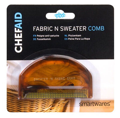 Fabric & Sweater Comb Removes Fluff Bobbles Fuzz Hair & Dust From Woven Fabrics