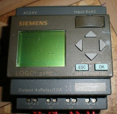 Siemens Logo Plc 24rc 6ed1 052-1hb00-0ba2