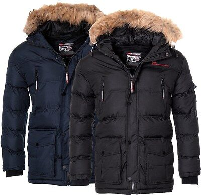 Geographical Norway warme Herren Winter jacke Outdoor winter Parka Anorak Mantel ()