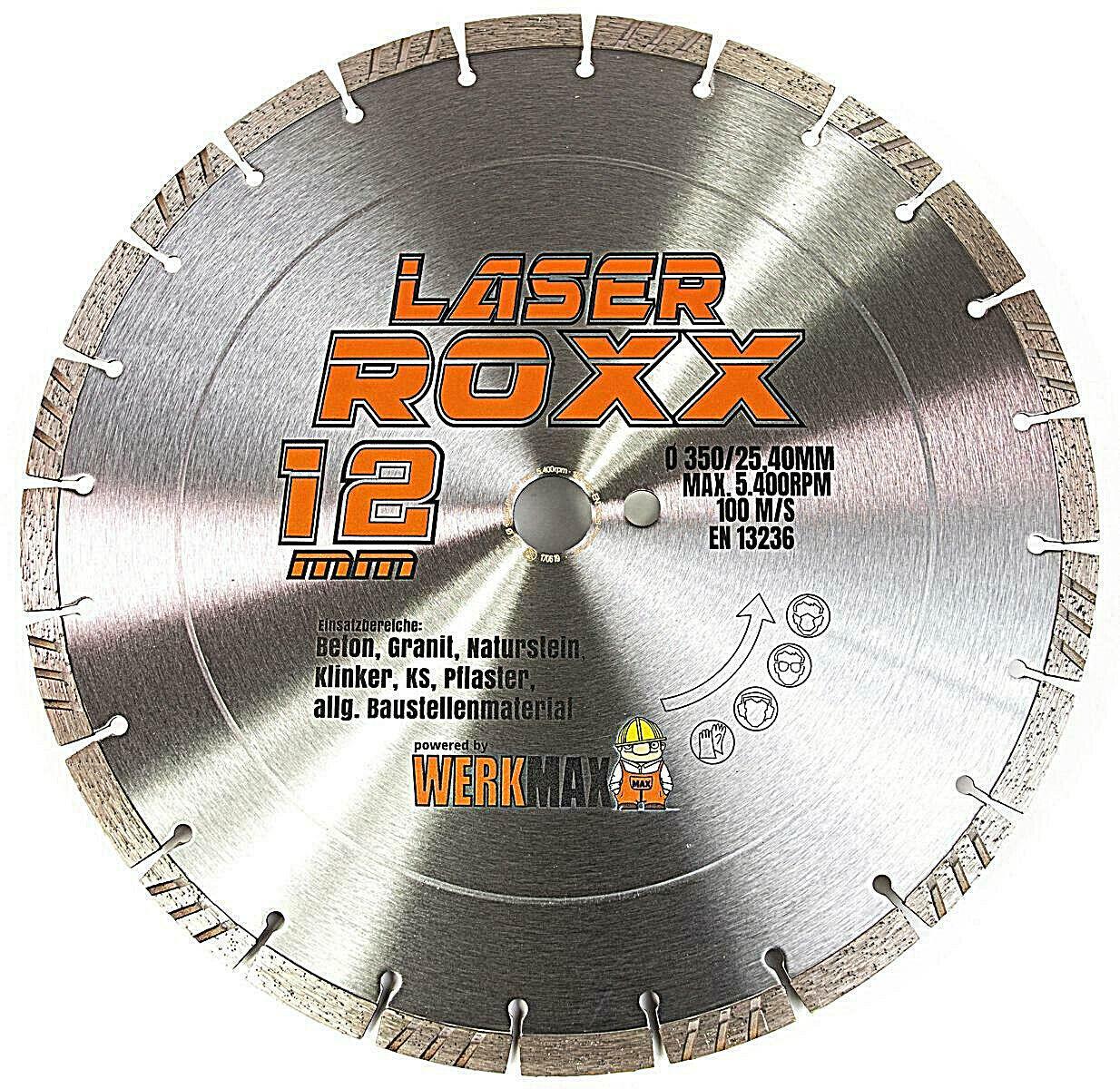 Diamant Trennscheibe Laser ROXX | Beton - universal | Ø 125 - 350 mm | plus Sets