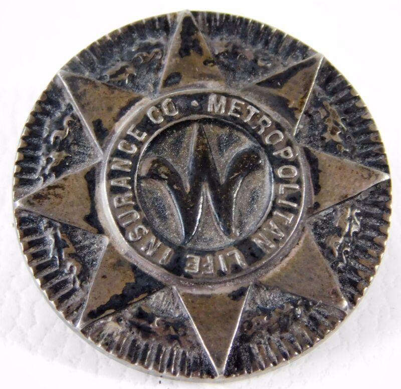 Vtg Tiffany & Co Sterling Metropolitan Life Insurance Co. Faithful Service Pin