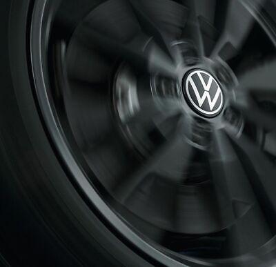 Original Volkswagen Nabenkappe für LM-Felge dynamisch, neues VW Logo, Chrom