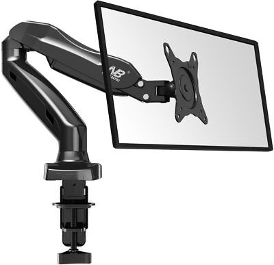North Bayou Monitor Desk Mount Stand Full Motion Arm Gas Spring for 17''-27''