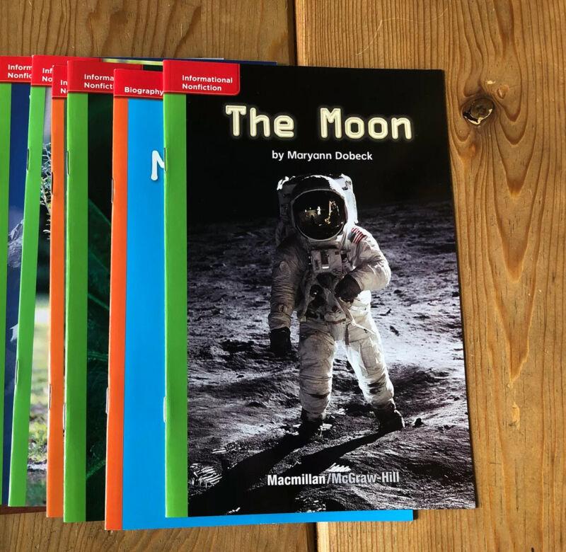 11 Grade 1+ Guided Leveled Reading Books Homeschool ~ Level C-J Various