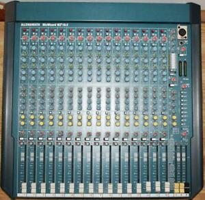 Allen & Heath MixWizard WZ3 16:2 16 Channel Mixing Board