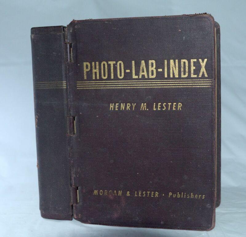 Photo Lab Index 7th Edition 1940