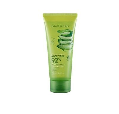 NATURE REPUBLIC Soothing & Moisture Aloe Vera 92% Soothing Gel Tube - 250ml