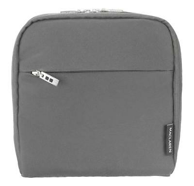 Maclaren Universal Insulated Pushchair Pannier Carry Bag - Charcoal Grey