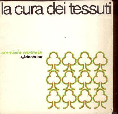 G2  LA CURA DEI TESSUTI - SERVIZIO CORTESIA - JOHNSON WAX DEL 1976