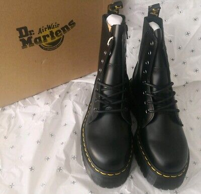 Dr Martens Jadon Size 5 Black Polished Smooth Size 5 Brand New In Box