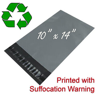 Mailing Bags Strong Poly Postage Postal Quality Self Seal Grey 10