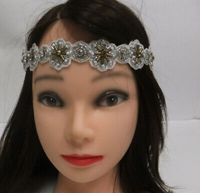 Silver Gold Snowflake  Rhinestones  Headband Women Girl Hair Accessories Of/Z-30 - Snowflake Headbands