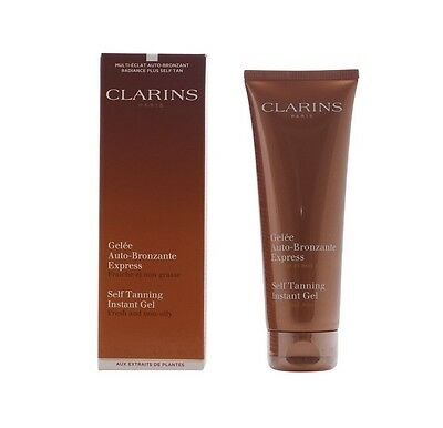 Clarins Self Tanning Instant Gel Fresh and non-oily 4.5 oz/125 ml - New in Box