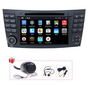 Android 4.4 Car GPS Radio Satnav For Mercedes Benz E280/E320/E350/CLS500/CLS55