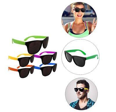 Neon Party Supplies (24pk Neon Pool Party Sunglasses Beach Prop Graduation Luau 80s Party Favors)