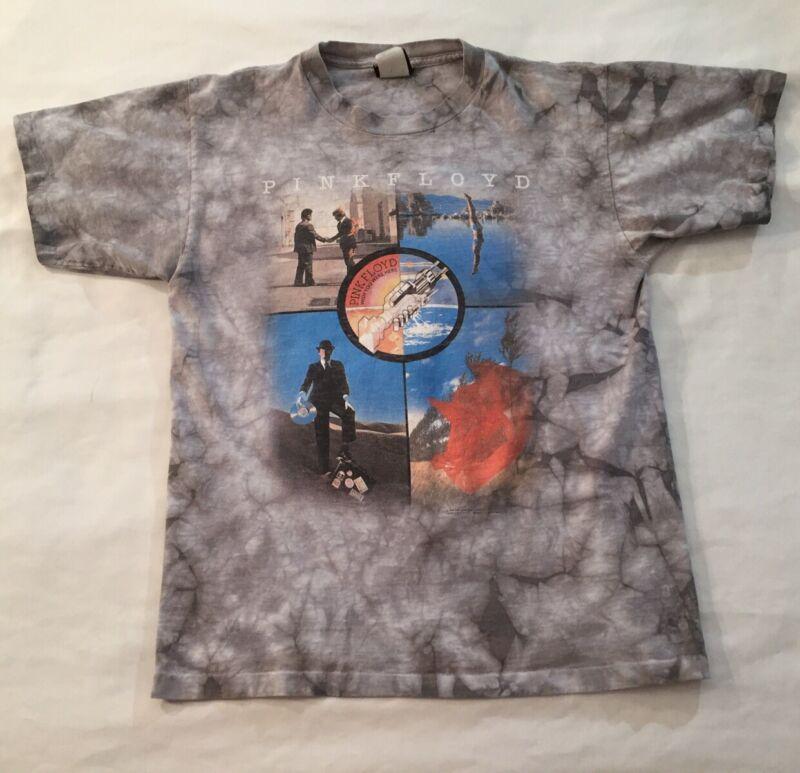 Pink Floyd 2005 Liquid Blue Tie Dye T Shirt Size Adult Small Medium