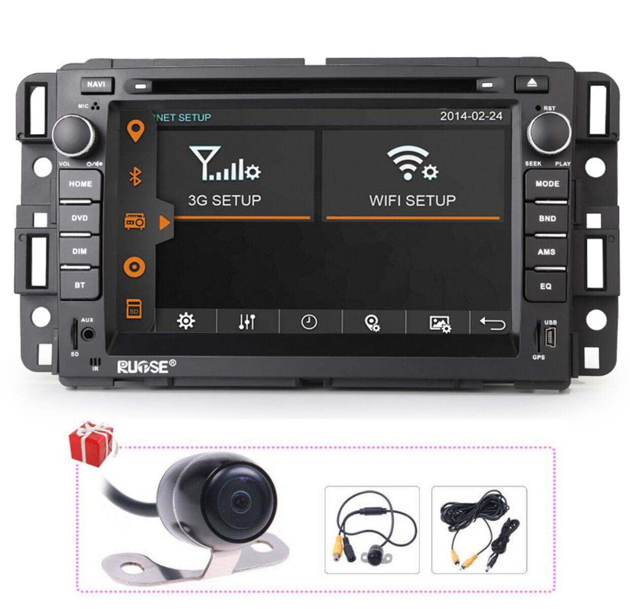 Autoradio Gps Navigation Stereo Dvd For Chevy Suburban