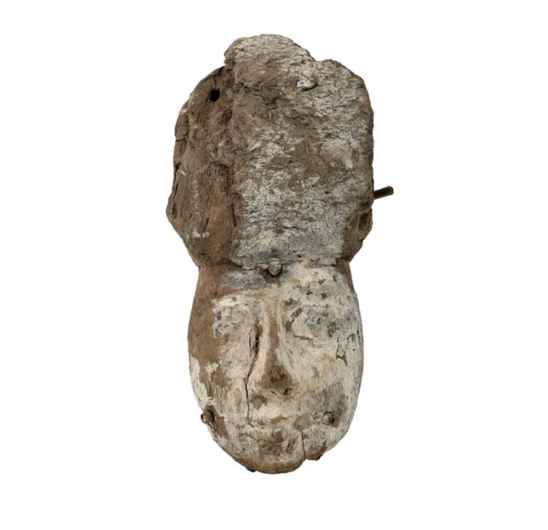 Egyptian Mummy Mask Artifact