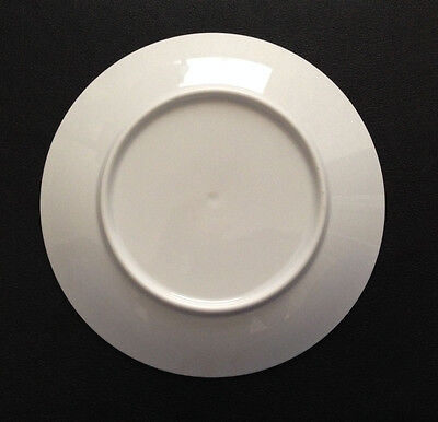 Set Of 8 New Contemporary White Coffee / Tea Cups With Saucers - $60.00