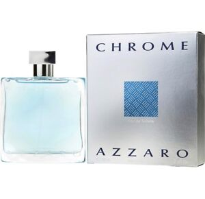 Brand new sealed Chrome Azzaro scent 100ml