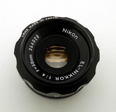 Superb Nikon EL-Nikkor 50mm F4 Enlarging Lens