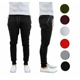 2 Pack Tech Fleece Slim Fit Insulating Jogger from Galaxy By Harvic