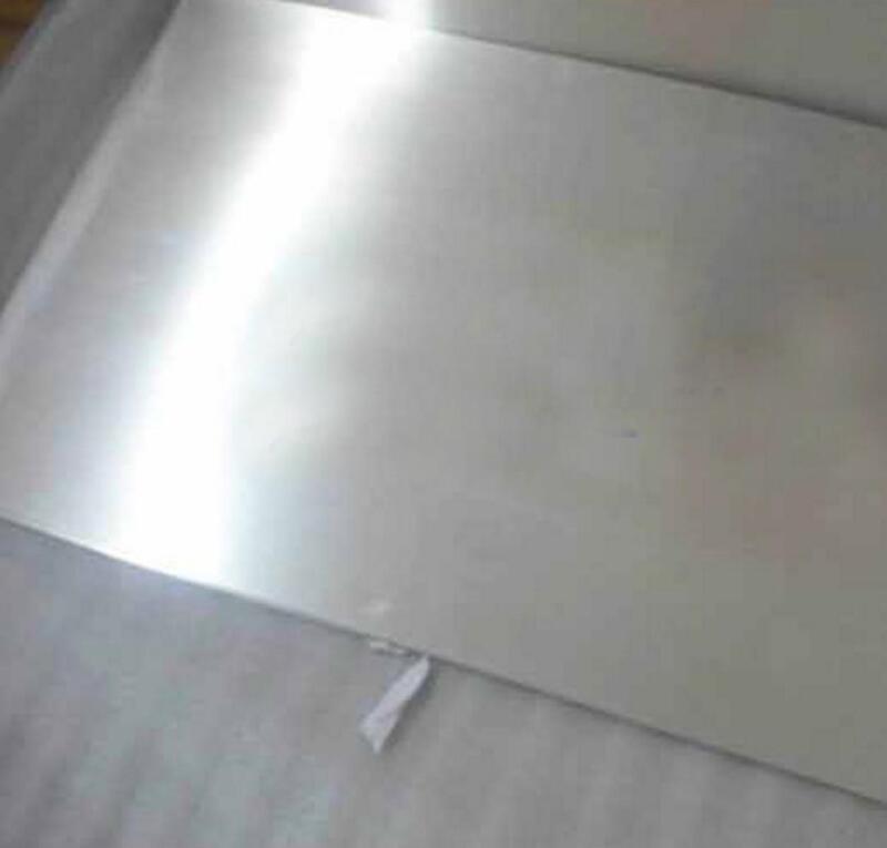 US Stock Magnesium Alloy Sheet AZ31B Plate Silver 1 x 100 x 200mm