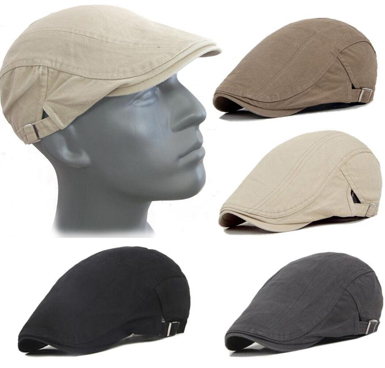 TREND Sommer Herren DRIVER CAP Schiebermütze Schirmmütze Flatcap Golfmütze NEU