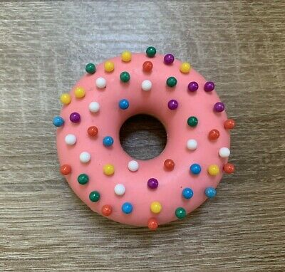 Genuine Fred Desk Donut Push Pin Holder With 48 Push Pins - Pre-owned No Box