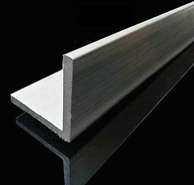 Us Stock 4pc 20mm X 20mm X 250mm9.84 Long 1.5mm Thick 6063 T5 Aluminum Angle