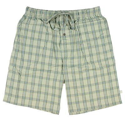 Intimo Mens Plaid Sleep Shorts Pajamas Drawstring Close Medium