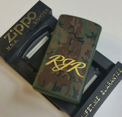 Zippo Lighter Camel RJR Camo Slim Line 1999 MNT 100 MADE