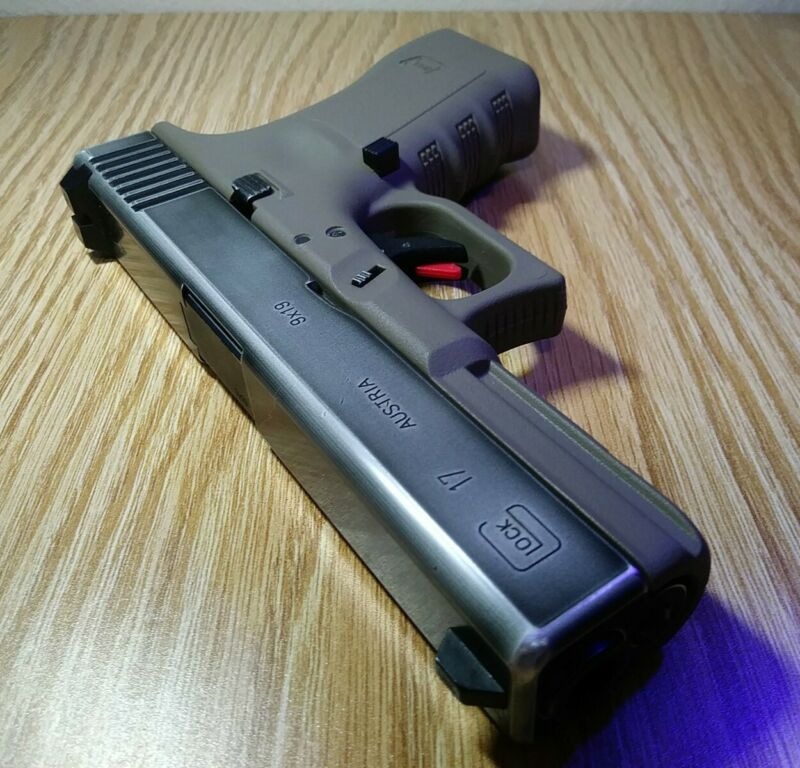 Tokyo Marui G17 Airsoft Gas Blowback GBB Pistol - Custom Upgraded Inside & Out